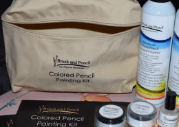 REVIEW Colored Pencil Painting Kit